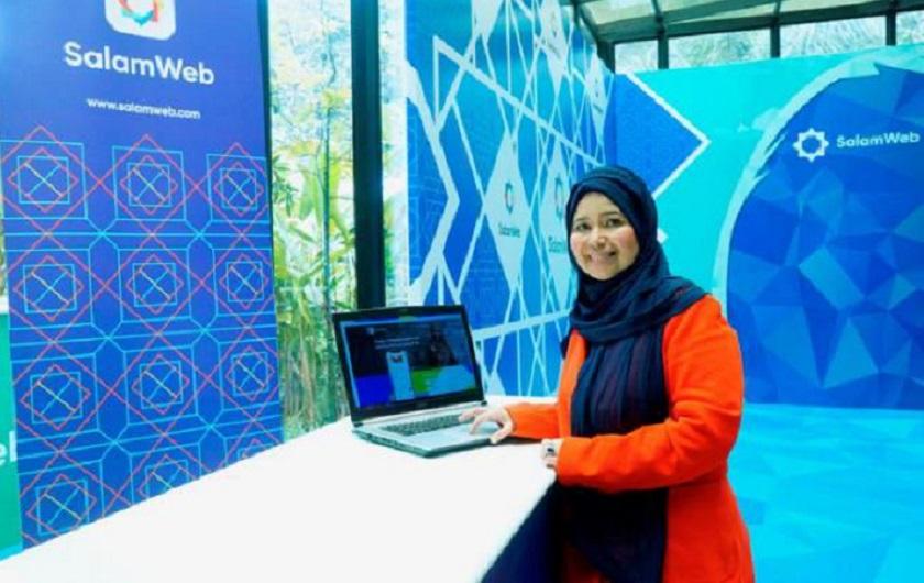 Hajjah Hasni Zarina, directora general de la compañía SalamWeb Technologies (Fuente EFE).