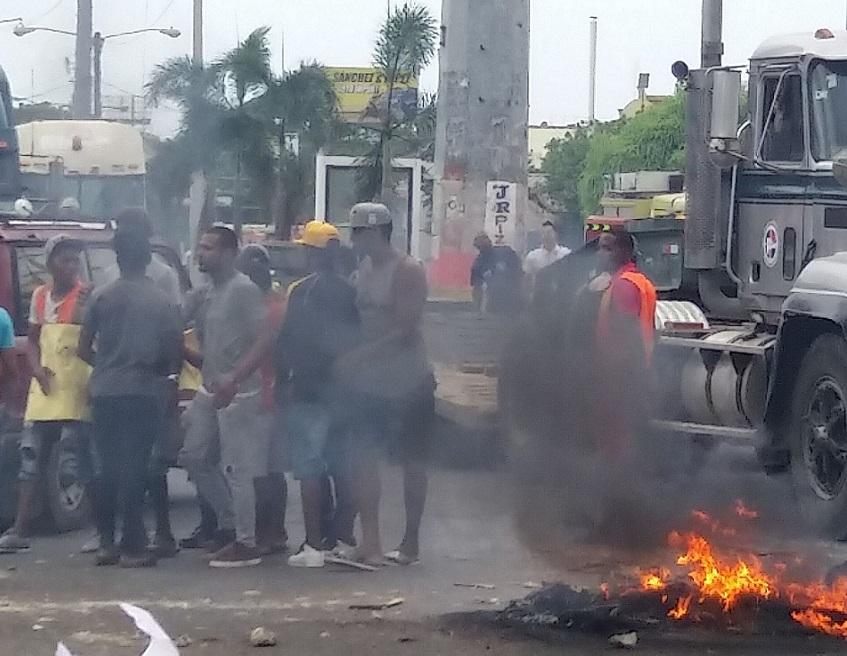 MPD defiende protestas en el Gran Santo Domingo.