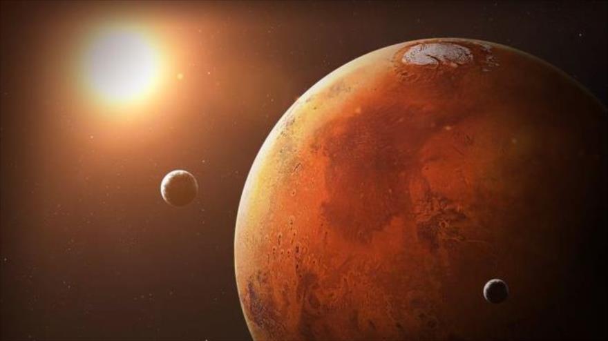 Marte pudo haber tendió condiciones para la vida hace más de 4 mil millones de años.