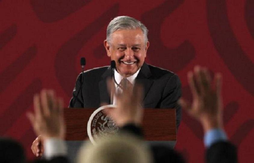 Presidente de México, Andrés Manuel López Obrador, en un acto este martes (Fuente EFE).