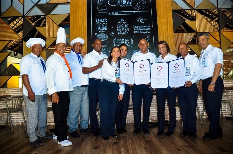 Casa Marina Beach & Reef recibe certificación Cristal.