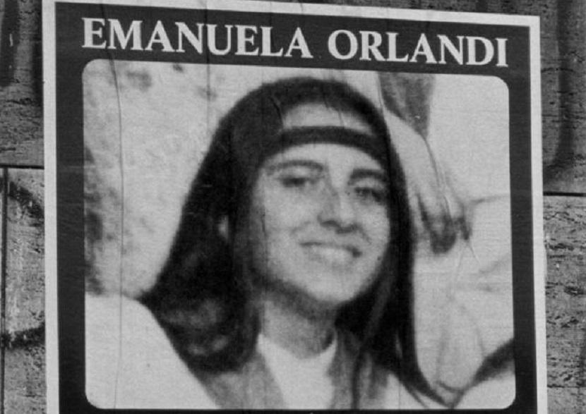 Imagen de Emanuela Orlandi, la hija de un empleado vaticano desaparecida en 1983.