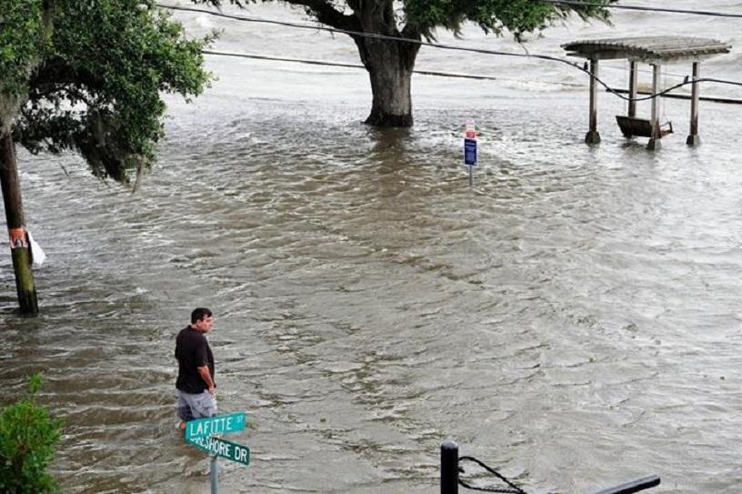 Inundaciones provocadas por la tormenta Barry.