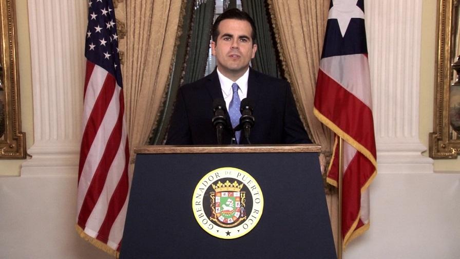 Ricardo Rosselló, gobernador de Puerto Rico.