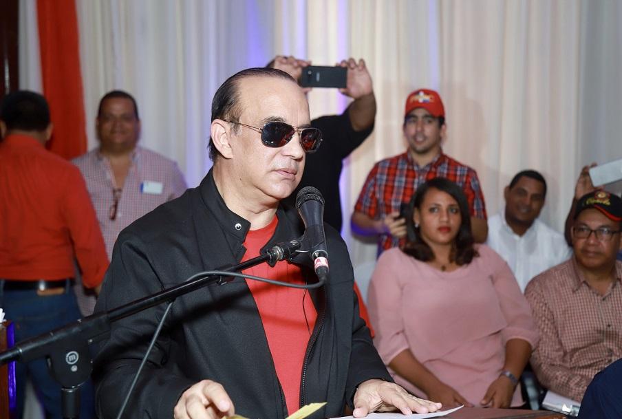 Federico Antún Batlle (Quique Antún), encabeza encuentro con dirigentes del PRSC en San Cristóbal.