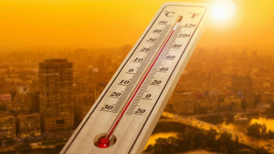 Registro de sensación termina (temperatura) elevada.