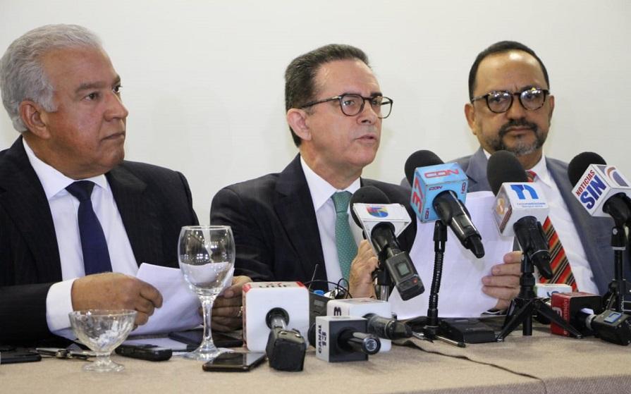 Abogados del expresidente del senado Andrés Bautista.