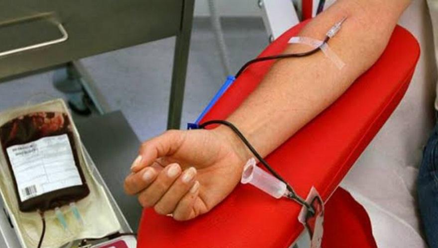 Donante de sangre banco nacional.
