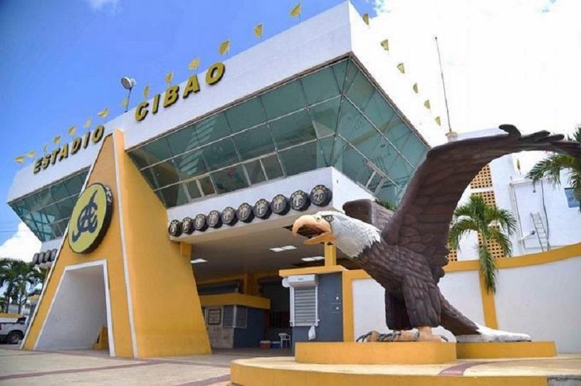 Estadio Cibao, hogar de las Águilas cibaeñas.