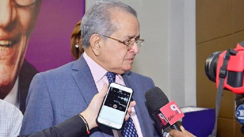 Franklin Almeyda Rancier, miembro del Comité Político del PLD.