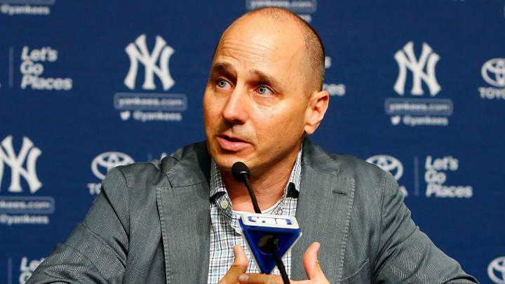 Gerente general de los Yankees Brian Cashman.