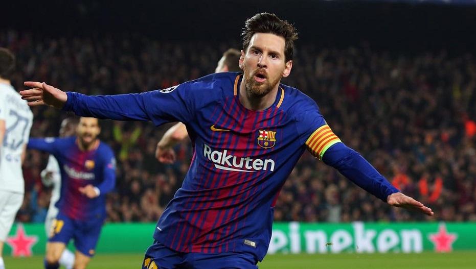 Messi nominado mejor gol del año.