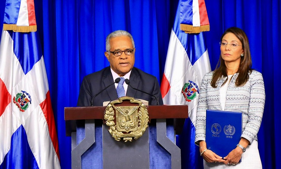 Ministro Salud Pública Rafael Sánchez Cárdenas.
