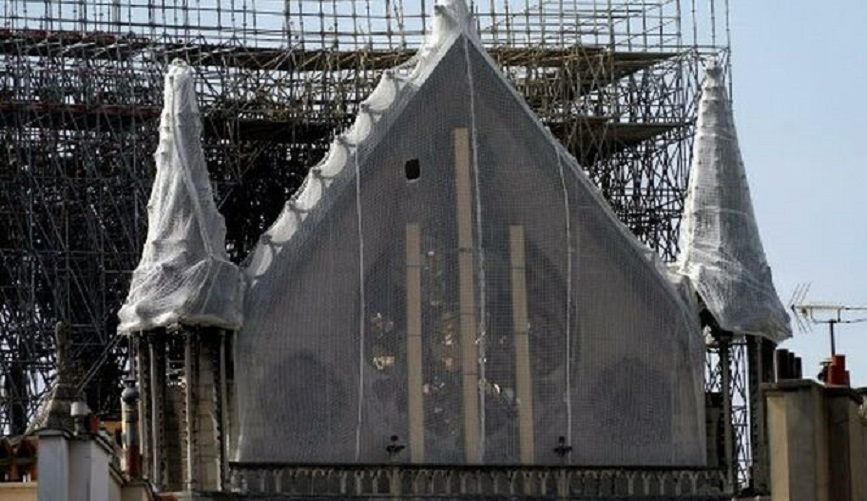 Catedral de Notre Dame en París.