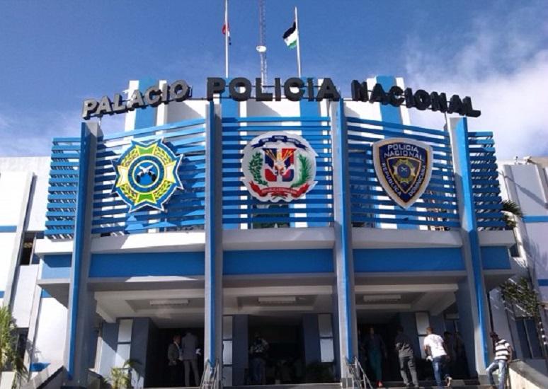 Cuartel general de la Policía Nacional.