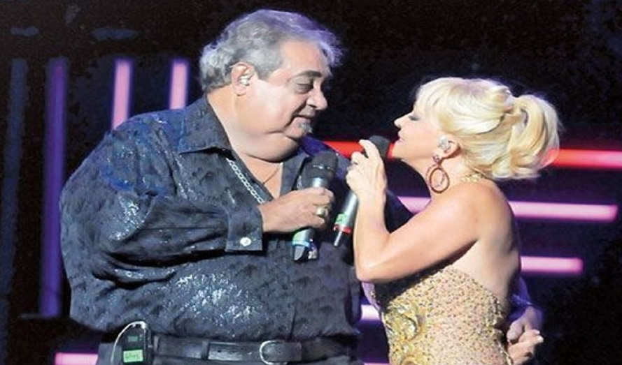 Yolandita Monge y Anthony Ríos.