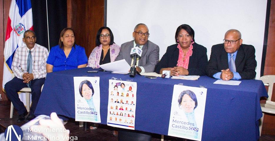 Candidatos a los distintos organismos del CDP/IPPP del Movimiento Marcelino Vega. (Foto externa)