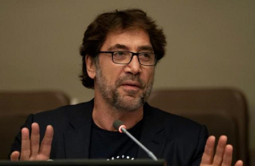 Español Javier Bardem defiende la protección de los océanos en la ONU.