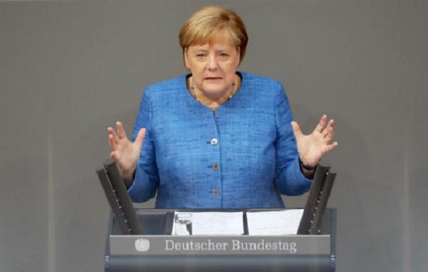 Canciller alemana Angela Merkel. (Foto EFE/EPA/Hayoung Jeon)
