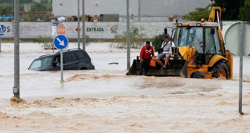 Cinco muertos en España por efectos de Dana.