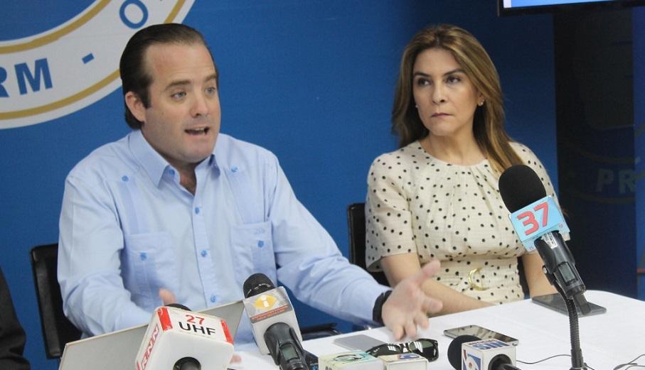 José Paliza y Carolina Mejía.