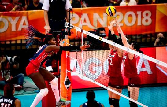 Reinas del Caribe caen ante Japón voleibol.