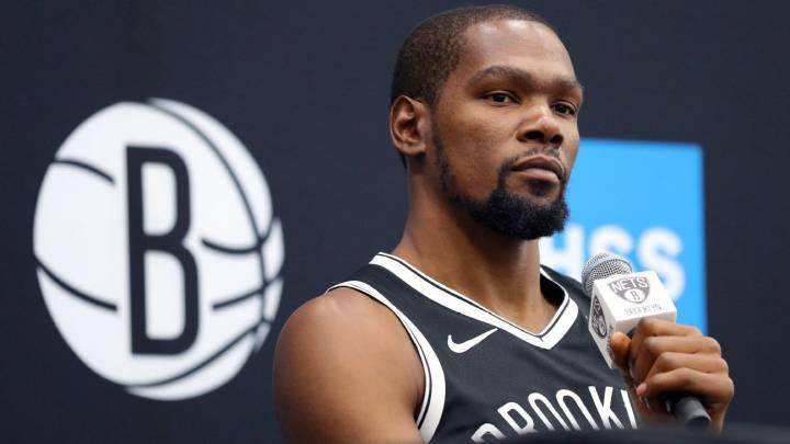 Kevin Durant jugador de Brooklyn Nets.