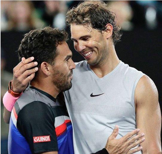 Víctor Estrella y Rafael Nadal. (Foto: Instagram)