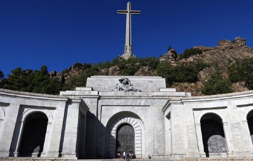 Vista del Valle de los Caídos. (Foto: EFE/ Ángel Díaz)