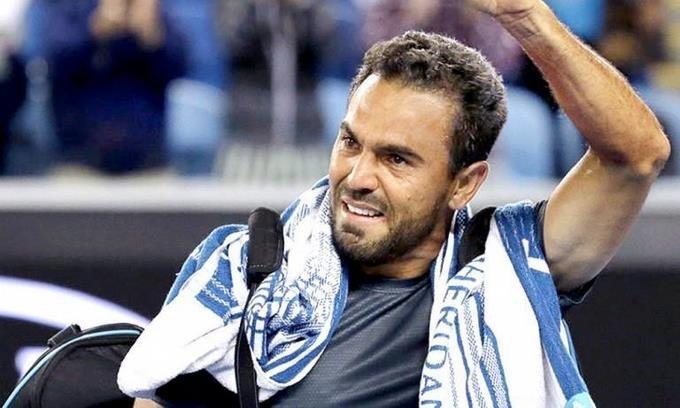 Tenista dominicano Víctor Estrella. (Foto externa)