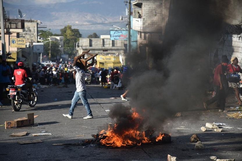 Un muerto y un herido durante las protestas en Haití.