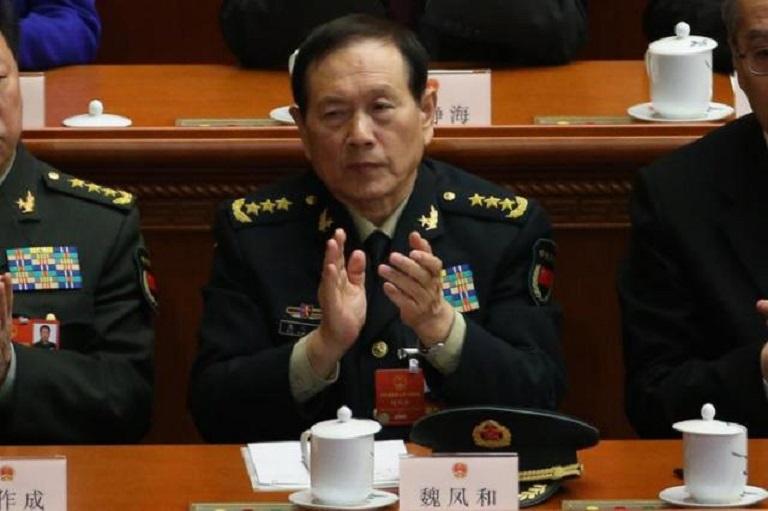 Wei Fenghe, ministro de Defensa chino.