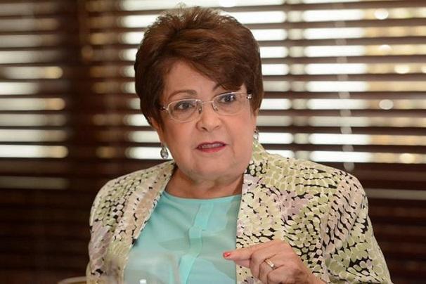 Alejandrina Germán miembro del CP del PLD.