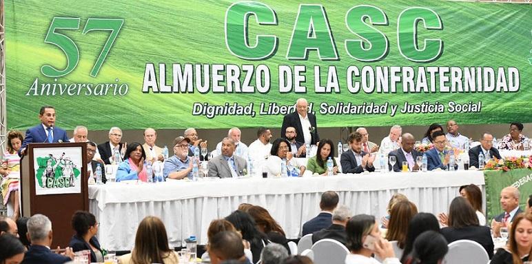 CASC 57 aniversario de confraternidad.