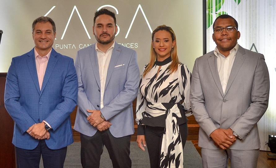 Ejecutivos proyecto inmobiliario Kasa Punta Cana Residences.