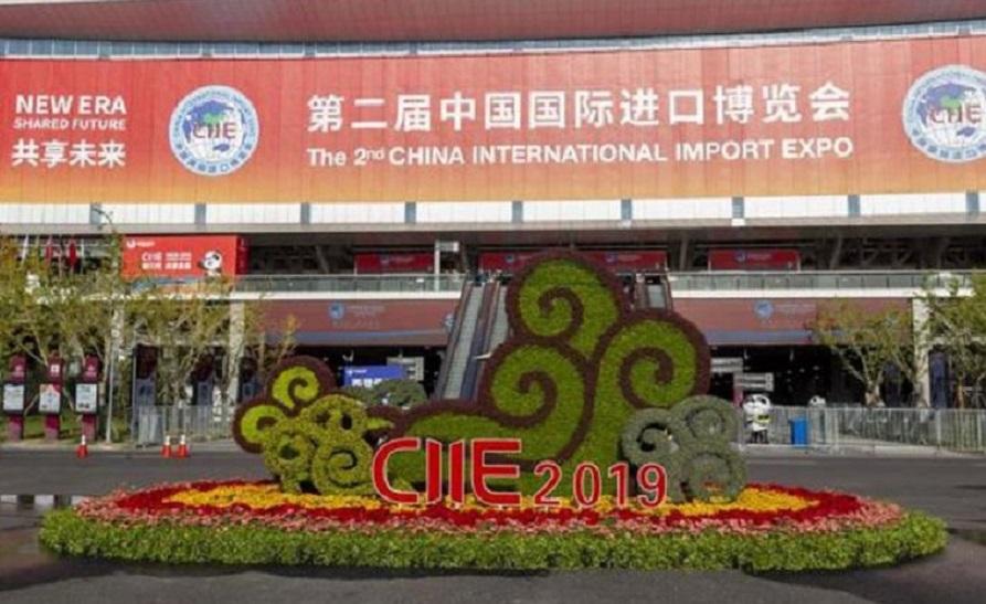 Feria de importación china. (Fuente: Xinhua)