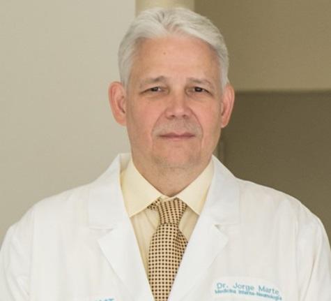 Jorge Marte director médico CEDIMAT.