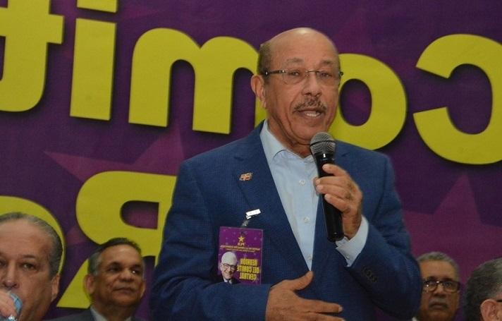 Juan Temistocles Montás presidente del Partido Revolucionario Dominicano.(Foto externa)