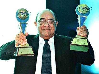 Gran ganador del premio Epifanio Lantigua Manuel Quiterio Cedeño.(Foto externa)
