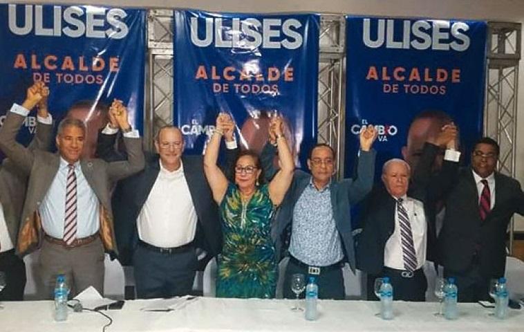 Ulises Rodríguez candidato a alcalde del PRM.