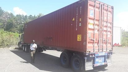 Imagen de un camión de carga.(Foto externa)