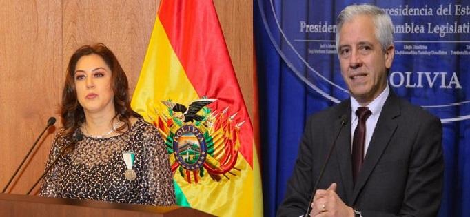 Vicepresidente de Bolivia y vicepresidente de Exteriores.(Foto externa)