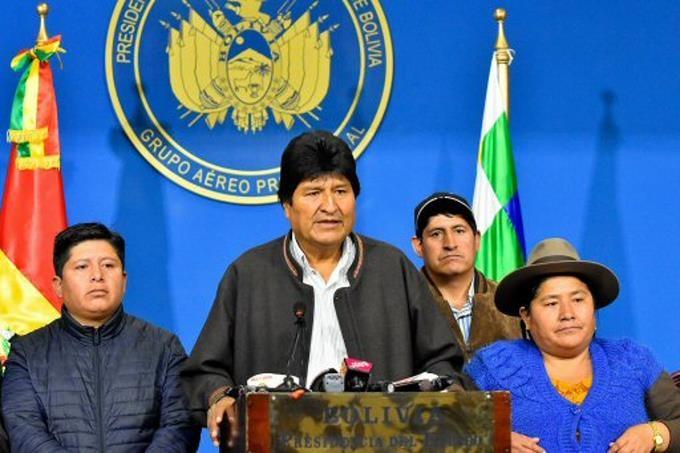 Evo Morales presidente de Bolivia.(Foto externa)