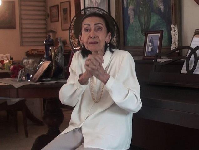 Aura Marina del Rosario profesora fallecida.