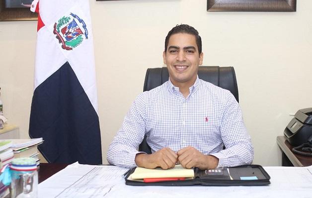 José Ernesto Abud alcalde de Villa Tapia.(Foto externa)