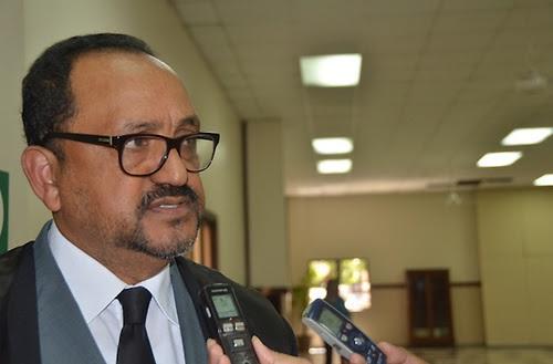 Antoliano Peralta Romero representante de la dirección Legal del PRM.(Foto externa)