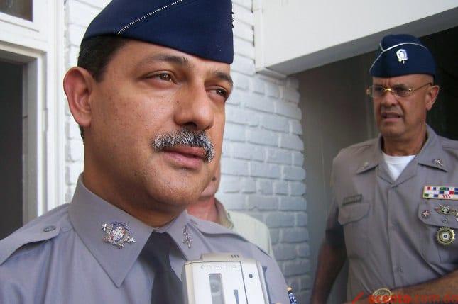 Rafael Guillermo Guzmán exjefe Policía Nacional.