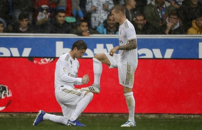 Jugadores del Real Madrid.(Foto externa)