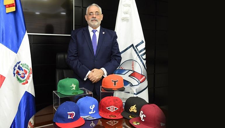 Vitelio Mejia Ortiz presidente de Liga de Béisbol Profesional de República Dominicana.(Foto externa)