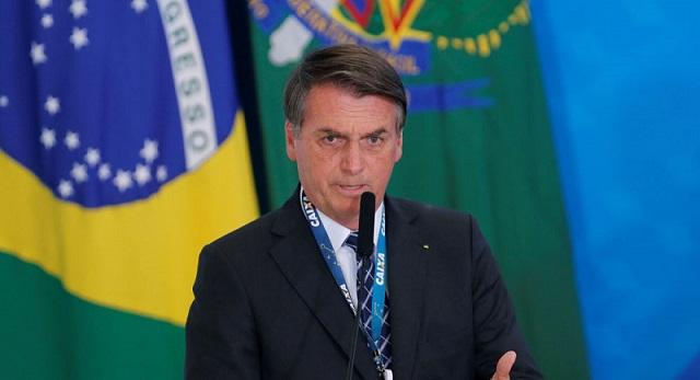 Jair Bolsonaro presidente del Brasil.(Foto externa)